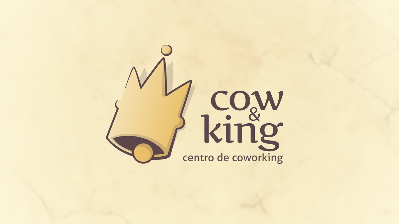 Cow and King
